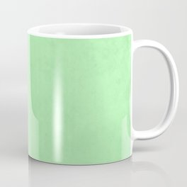 Society6 Home Solid Colors - Orange - Hues - Earth Tones Warm Pastel Colours Pale - Ultra Green 3k Coffee Mug