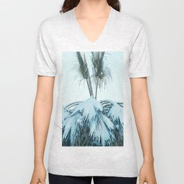 Palm and Snow Unisex V-Neck