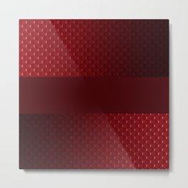 Red pearl Metal Print