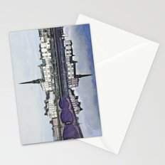 Ayr Town Centre Fractal  Stationery Cards