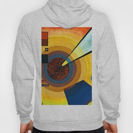 Wassily Kandinsky Green and Red Hoody