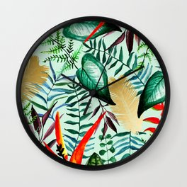 Paradise #society6 #decor #buyart Wall Clock