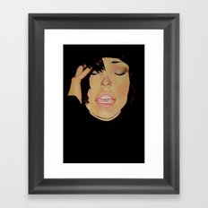 Moved by Faces Framed Art Print