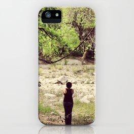 Greenbelt Riverbed iPhone Case