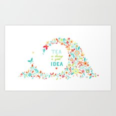 Tea Idea Art Print