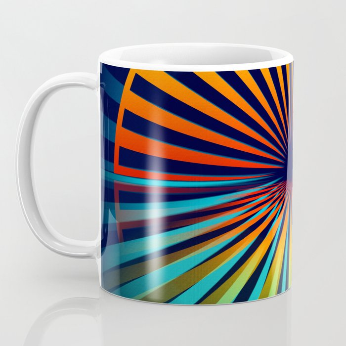 Sunset abstract 194 Coffee Mug