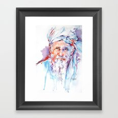 Wisdom of ages Framed Art Print