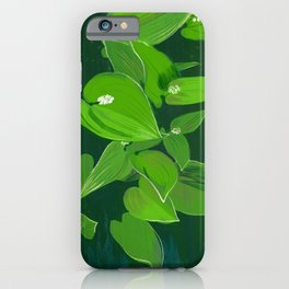 Wild wood lily iPhone Case