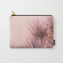 Bohemian Pink Palms Carry-All Pouch