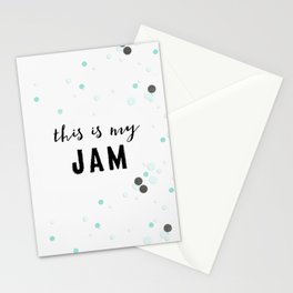 This Is My Jam Stationery Cards