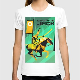 Last Ride of Samurai Jack (Gold) T-shirt