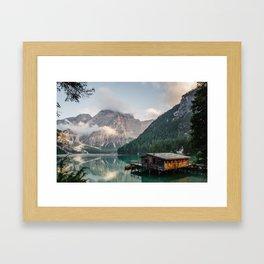 Lakehouse Gerahmter Kunstdruck