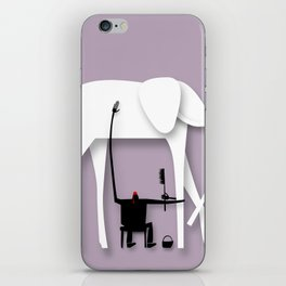 Elephant's trip iPhone Skin