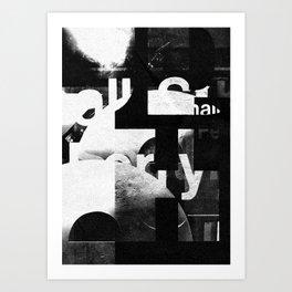 Typefart 007 Art Print