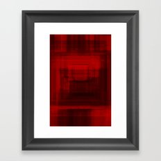 Red#1 Framed Art Print