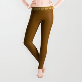 Father And Son Couch Potatoes Leggings