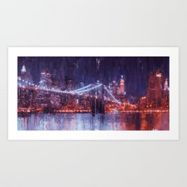 New York Panorama Art Print