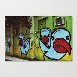 {blue} Canvas Print