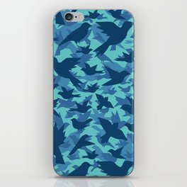 Bird Camouflage 8 iPhone Skin
