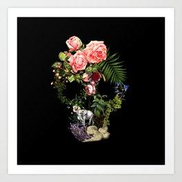 The Skeleton Garden Art Print