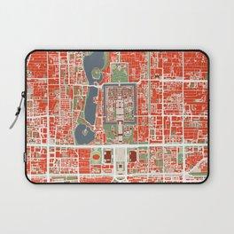 Beijing city map classic Laptop Sleeve