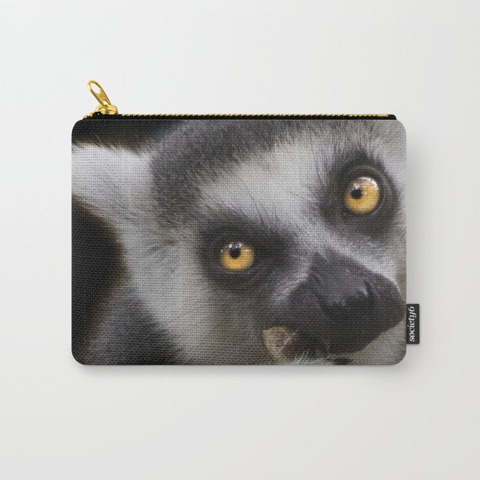 Lemur eating Carry-All Pouch