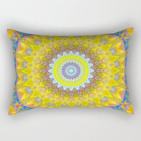 Mandala sun 2 Rectangular Pillow