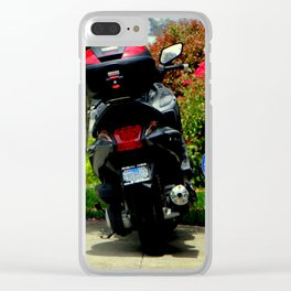 Keep Off The Grass - Or Else Clear iPhone Case