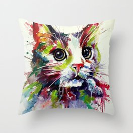 Animal Art  #7 Throw Pillow