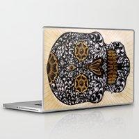 calavera Laptop & iPad Skins featuring CALAVERA by Nick Potash