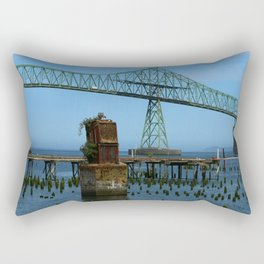Megler Bridge -  Astoria Rectangular Pillow