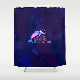 The Hitchhikers Guide To The Galaxy Shower Curtain