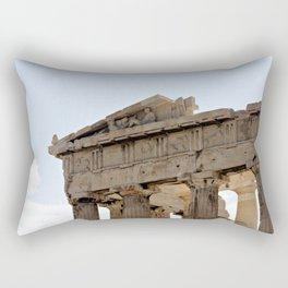 Parthenon. Rectangular Pillow