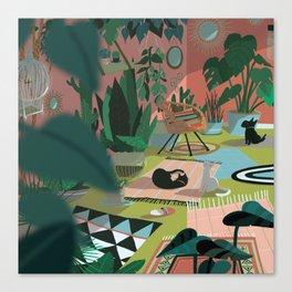 The flat Canvas Print