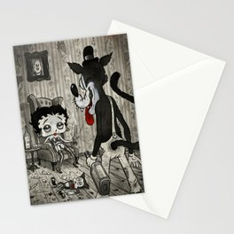 BETTY AND THE WOLF Stationery Cards
