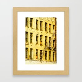 Auckland Buildings Framed Art Print