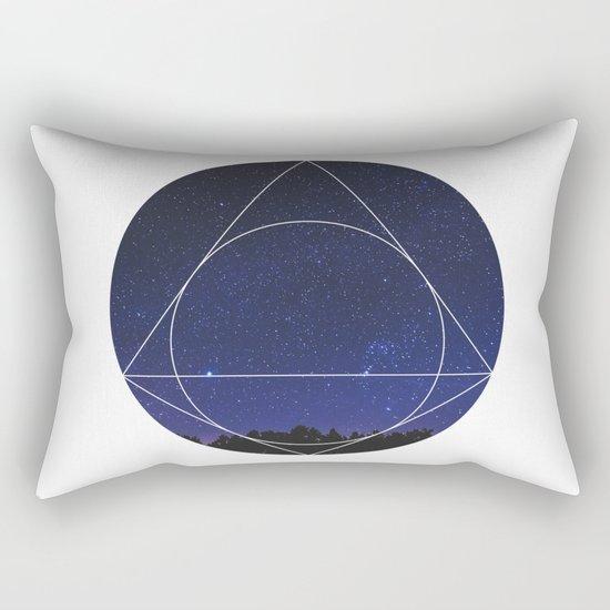 Magical Universe - Geometric Photographic Rectangular Pillow