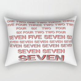 Monica teaches Chandler 7 erogenous zones in F.R.I.E.N.D.S. Rectangular Pillow