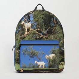 Goats in a tree Backpack