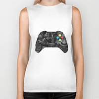 video game Biker Tanks featuring Video Game by Thomas Official
