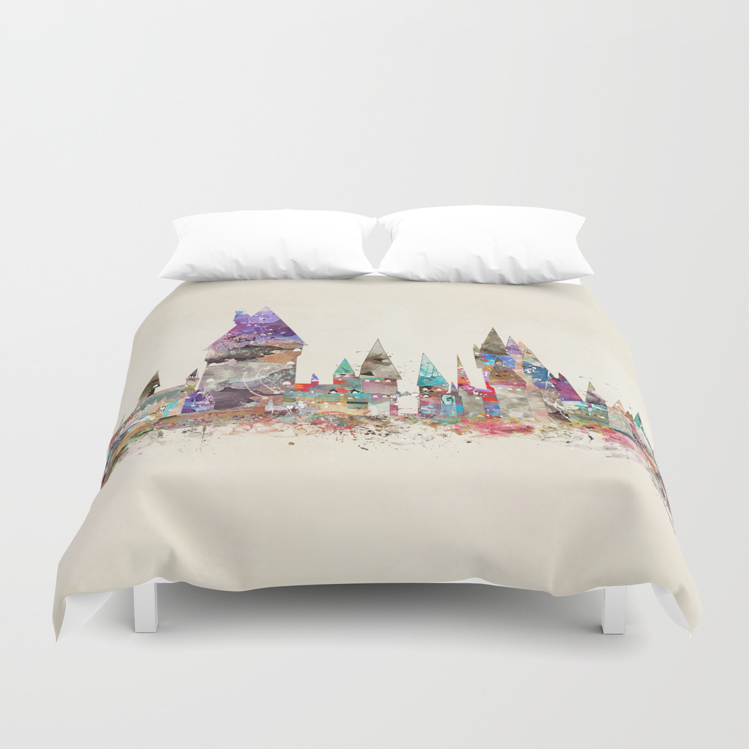Childrens movies tv and pop art duvet covers society6 gamestrikefo Images
