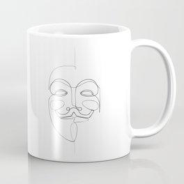 Guy Fawkes Coffee Mug