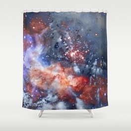 γ Phekda Shower Curtain