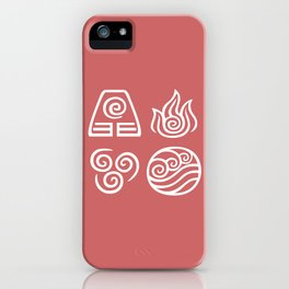 Bending All Four Elements – Fire iPhone Case