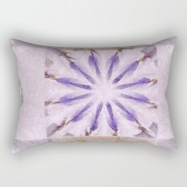 Faience Entity Flowers  ID:16165-051910-13480 Rectangular Pillow
