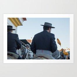 Horse Festival Art Print