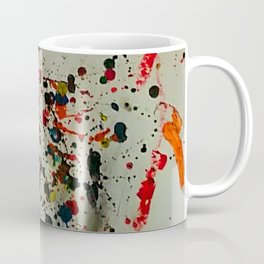 Crayon Splat Coffee Mug