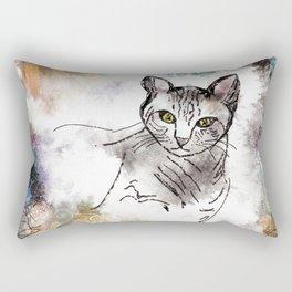 viola_cat Rectangular Pillow