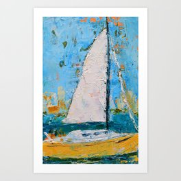 Splendor - Sailboat Art Print