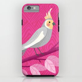 Bright Bird Portrait iPhone Case